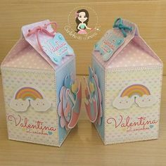 Caixa milk Chuva de Amor para a Valentina ☔☁ #cantinhodalinoca #chuvadeamor #valentinafaz2 #festachuvadeamor #caixamilkchuvadeamor