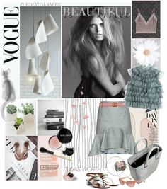 """""""POWDERY NUANCES!"""" by mariapia65 ❤ liked on Polyvore"""
