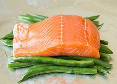 Pesto Salmon and Italian Veggies in Foil   Cooking Classy