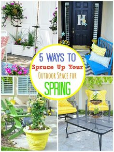 5 Ways to Spruce Up Your Outdoor Space for Spring | eBay #spon
