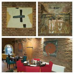 SUPER Proud of Heide van der CJ, mygalleries.be @ Het Arsenaal!! #art #paintings #food #terneuzen