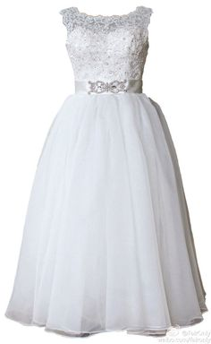 Faironly New Lace Crystal Wedding Dress Bridal Gown Custom Size 6 8 10 12 14 16+