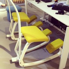 I need/really want a kneeling chair! via @Apartment Therapy
