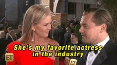 Leonardo DiCaprio Can't Stop Gushing Over Kate Winslet  - HarpersBAZAAR.com