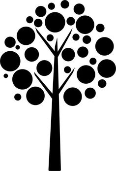 Quickly and easily create a fun and unique design on walls anywhere with our Dots Abstract Painting Stencil! Quickly and easily create a fun and unique design on walls anywhere with our Dots Abstract Painting Stencil! Stencils, Tree Stencil, Stencil Painting, Stencil Patterns, Stencil Designs, Silhouette Portrait, Silhouette Design, Line Art, Coloring Pages