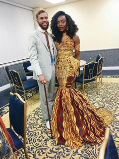 brinajay-27:   naturalyfindingme:  mrgetitdone:  mrwrightii:  rudegyalchina:  My gawd I need this dress …  & the man .  My dude suit is super clean.  Lord… Let    Her dress…this isn't even fair.