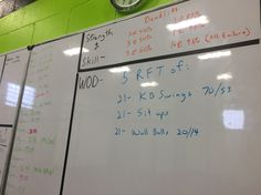 Crossfit WOD. This was a good one. I didn't RX the kettle bell weight. I only did the 35 pound kettle bell. My back was super tight so I decided not to risk it. It was still a great workout. PR deadlift 225.