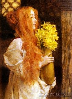 Spring Flowers by Lawrence Alma-Tadema