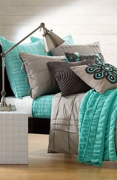 Teal bedroom idea 5
