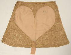 Underpants, Christophe: 1920's, French, silk/cotton.