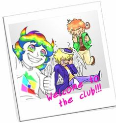 Trickster Homestuck, Supernatrual and Hetalia