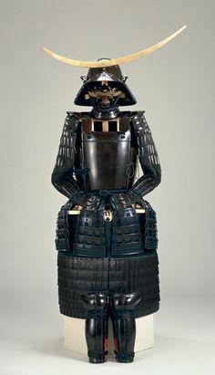 """伊達政宗 Date Masamune – Often called the """"one-eyed dragon"""" (独眼竜)… Samurai Weapons, Samurai Helmet, Samurai Armor, Elmo, Samourai Tattoo, Lamellar Armor, Date Masamune, Sengoku Basara, Japanese Warrior"""