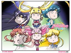 Sailor Moon Crystal: Black Moon Arc will introduce Chibiusa/Sailor Chibimoon, Sailor Pluto and the Black Moon Clan. Watch the trailers, images & info! Sailor Moon English, Sailor Moon Funny, Watch Sailor Moon, Sailor Chibi Moon, Sailor Pluto, Sailor Moon Villains, Famous Artwork, Princess Serenity, Black Moon