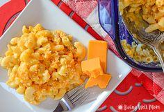 Kid Friendly Easy Homemade Macaroni & Cheese