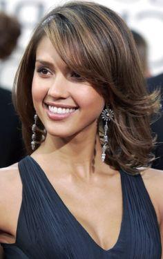 Pretty Hairdos for Thick Hair & Medium Length   Talk Hairstyles