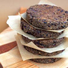 Olive Lentil Burgers- recipe on isachandra.com