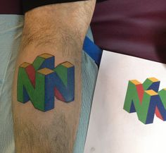 n64 tattoo - Google Search
