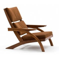 Taguaíba Carlos Motta, 2008 Chair Teak Wood Elegant Sitting Tweed Upholstery Fabric MCM Mid Century Modern Home Decor Unique Furniture, Furniture Projects, Wood Furniture, Furniture Design, Furniture Movers, Diy Sofa, Diy Chair, Wooden Sofa, Furniture Inspiration