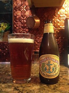 Anchor Steam Beer by Anchor Brewing Company; San Francisco, CA.