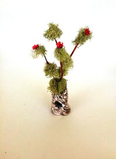 Miniature Tree Fairy garden Accessories by EnchantedHomes on Etsy