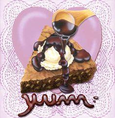 """Chocolate Yum"" / Rosiland Solomon"