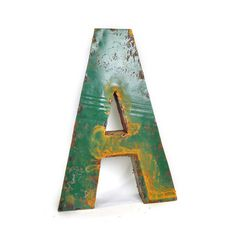 Drum Metal Letter A, on Fab.