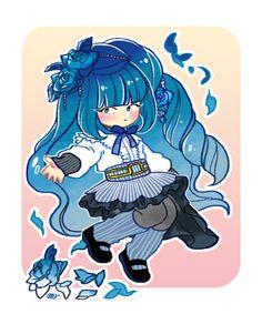 Extra Chibi for Blue Rose by Acusta.deviantart.com on @deviantART