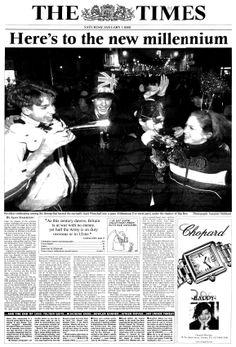 Historic Newspaper Headlines | ... Newspaper Gift, 2000 newspaper, 2000 News, 2000 Headlines - Historic