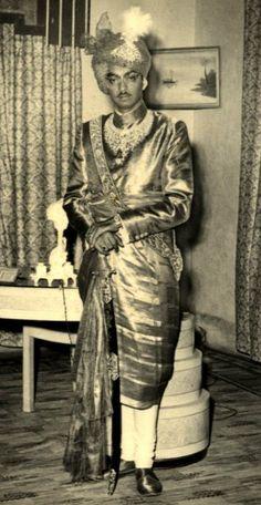 H Maharaja Raj Raj Singh Deo of Patna (1934-2004)