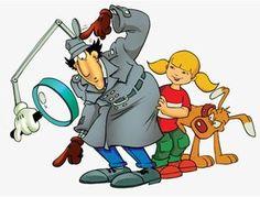 Go Go Gadget Copter! Brain was always my favorite.