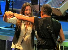 Bruce Springsteen and Jessica in Paris!
