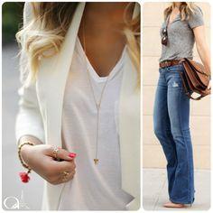 """[LUXO DISCRETO]  www.armoniestore.wordpress.com Hoje vamos falar um pouco sobre os """"pequenos luxos"""" que o #estiloatemporal nos pede.  Você já reparou naquelas mulheres que parecem chique mesmo usando calça jeans e camiseta? Se você observar bem, pode notar algumas características recorrentes nelas."""
