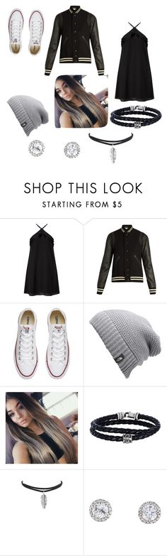 """""""Fall look"""" by threecheersforsweetfrerard ❤ liked on Polyvore featuring Miss Selfridge, Yves Saint Laurent, Converse, The North Face and Phillip Gavriel"""