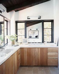Modern Rustic Bathroom via Lonny.