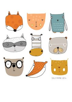 I am a freelance surface pattern designer and Illustrator. I have a degree in pr. - I am a freelance surface pattern designer and Illustrator. I have a degree in printed Textiles and h - Children's Book Illustration, Animal Illustrations, Digital Illustration, Mermaid Illustration, Cute Animal Illustration, Illustrations Posters, Surface Pattern Design, Art Plastique, Textile Prints