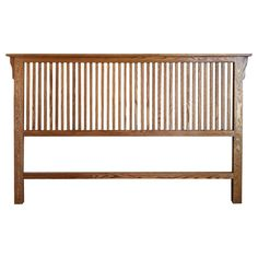 Mission Oak Rake Headboard Cal King Size W X D 53 H Solid Made In Usa Comes A Variety Of Finish Choices
