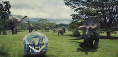 The dinosaurs have escaped and are attacking the visitors! Can you escape the Jurassic World? Jurassic World 2015, Jurassic Park 1993, World Tv, Adventure Film, Wildlife Park, Prehistoric Animals, Conceptual Art, Zoo Animals, Elephant