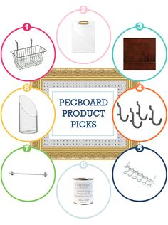 #Organize With This: Pegboard! | BHG Style Spotters