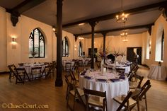 The Chase Court ballroom was set perfectly. The look was simple and elegant, warm and inviting. wedding-reception-in-baltimore