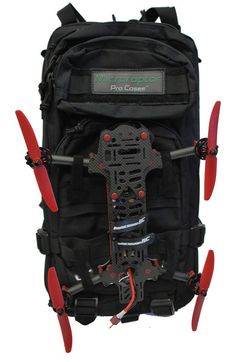 Microraptor Pro Universal Transmitter and Battery Backpack (For Mini Quads)