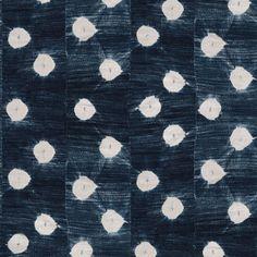 St. Frank | Indigo Dots Wallpaper