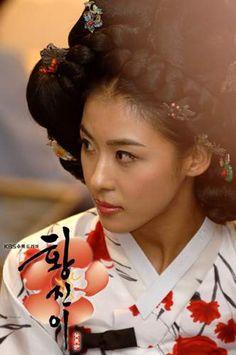 Hwang Jin Yi / 황진이 K-drama: The story of Hwang Jin Yi, the famous Korean Hanbok, Korean Dress, Korean Traditional, Traditional Dresses, Ha Ji Won, Stunningly Beautiful, Kdrama, My Images, Asian Woman