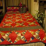 I think this is a cheater cloth quilt.  Love it!