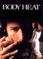 Body Heat - Ned is manipulated into killing Matty's much older husband (Richard Crenna), the plan being that Ned's knowledge of legal matters will enable both conspirators to escape scott-free. This might have been the case, had not Matty been infinitely craftier than the cloddish Ned. Just when it seems as though the film has run out of plot twists, we're handed yet another surprise.