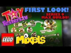 LEGO Mixels Series 9 Max Builds Revealed - Trashoz Max Mixel, NindJas Max Mixel, Newzers Max Mixel - YouTube