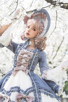 Hinana -Rococo- Vintage Classic Lolita Bonnet and Choker