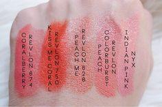 my favourite coral lipsticks