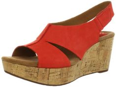 Clarks Women's Caslynn Lizzie Wedge Sandal,Red,6 M US Clarks http://www.amazon.com/dp/B008MC0RG0/ref=cm_sw_r_pi_dp_T5x2tb0P65TANTR5