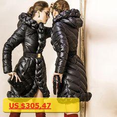 New Arrival Luxury Women Down jacket 2016 Winter jacket women down parka Coat Downs Jackets Long design Thicken Coats 90% Duck