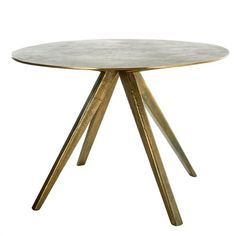 Table circle brass - pols potten